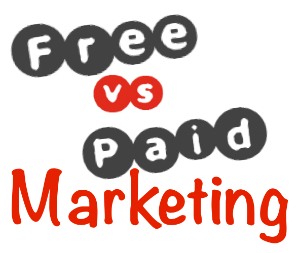 free vs paid marketing
