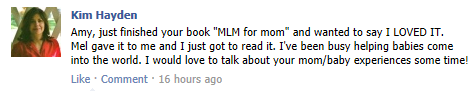 mlm for mom review