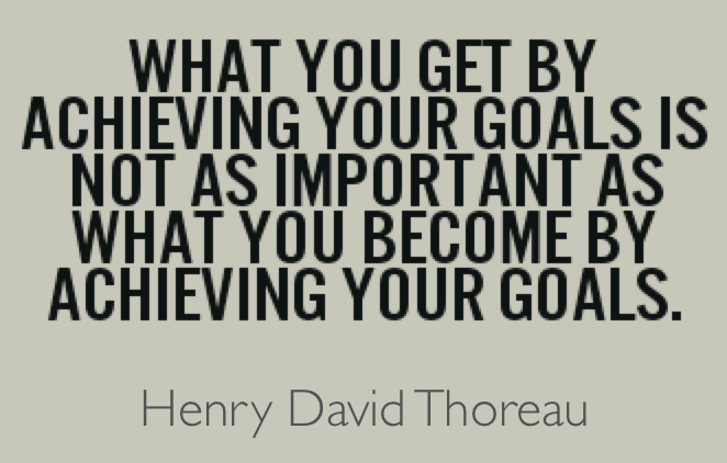 hit your goals