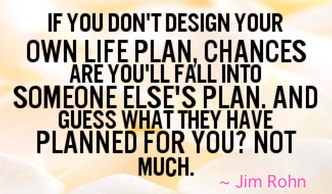 life's plan jim rohn