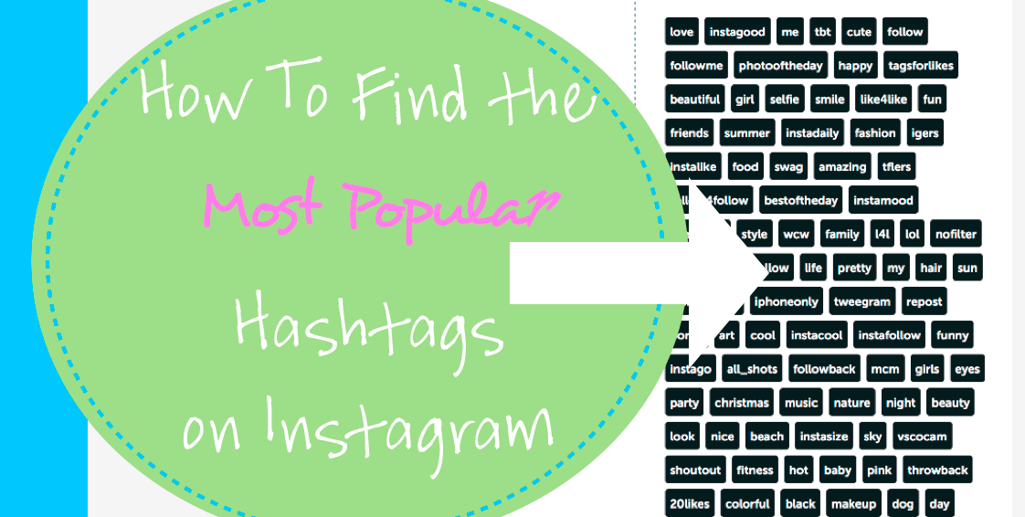 How to use iconosquare to find hashtags