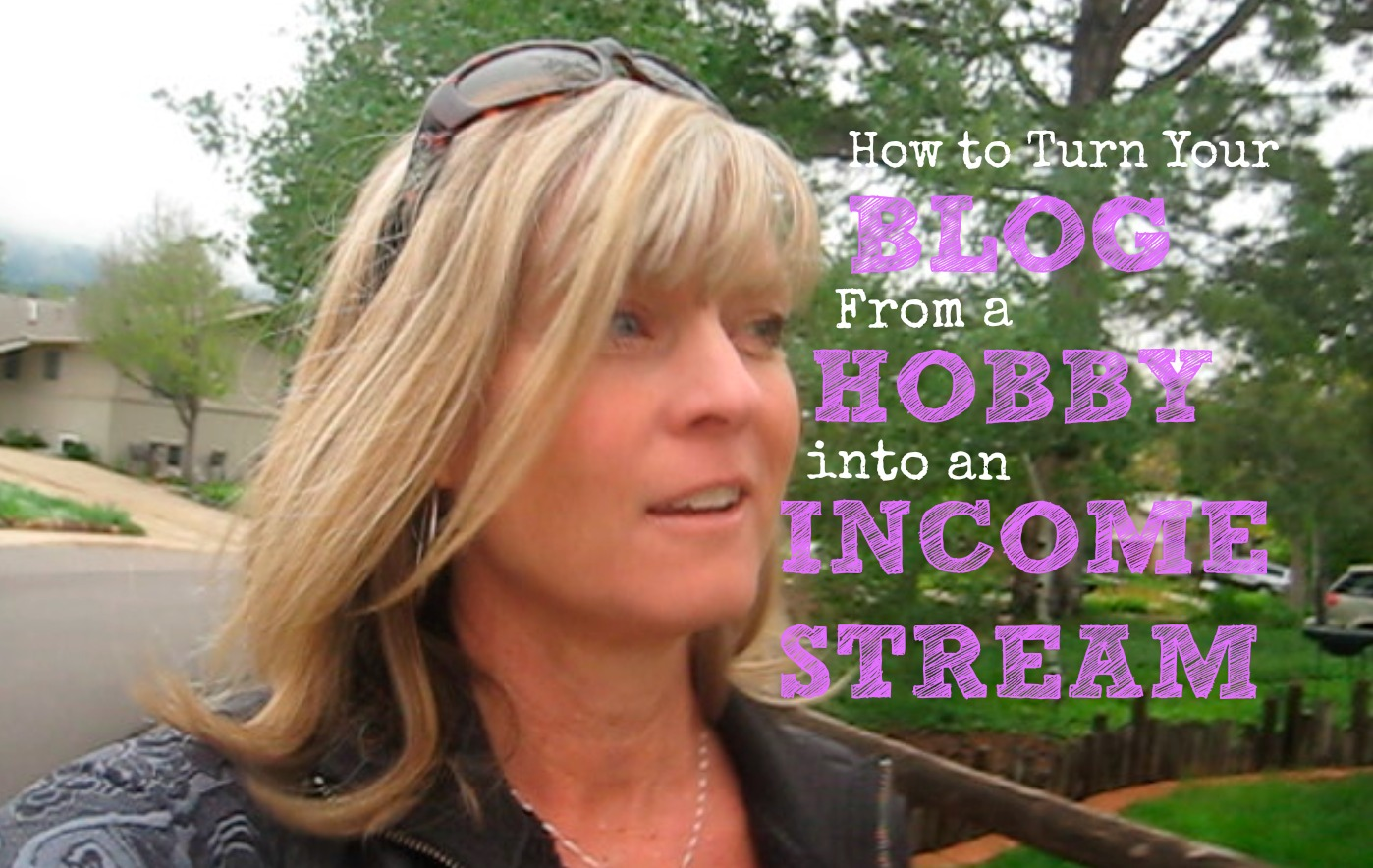 how to turn your blog from a hobby into an income stream