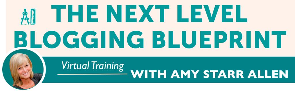 next level blogging blueprint 2