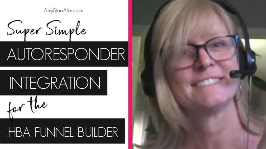 autoresponder integration for the hba funnel builder