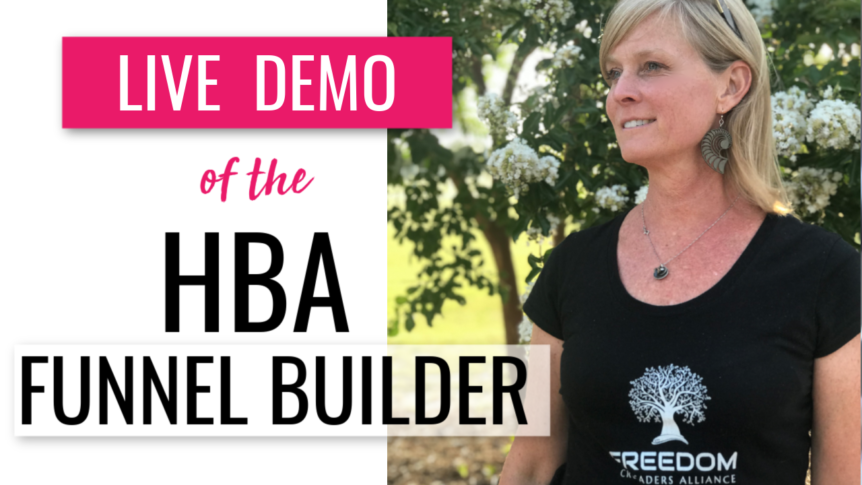 Live Demo of the HBA Funnel Builder