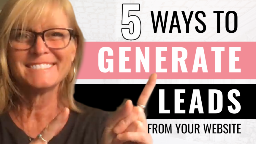 5 Ways to Generate Leads From Your Website
