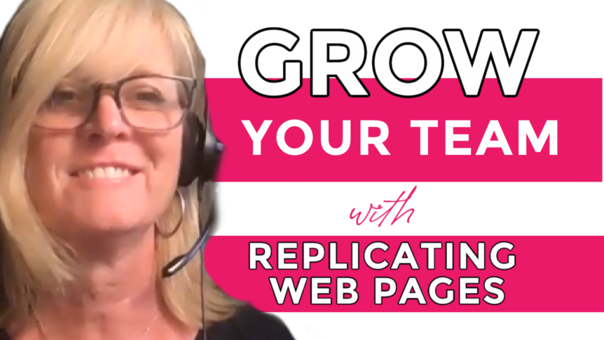 Grow Your Team with Replicating Web Pages