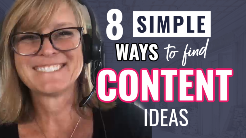 8 simple ways to find content ideas 1