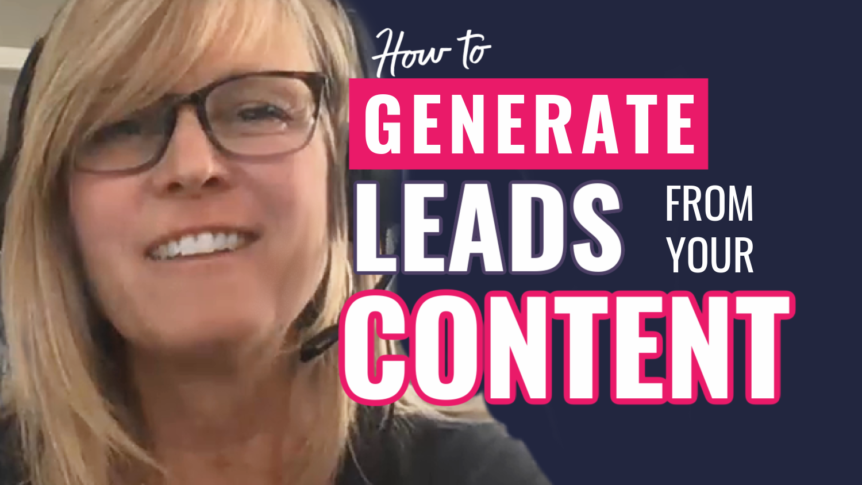 how to generate leads from your content using the HBA funnel builder