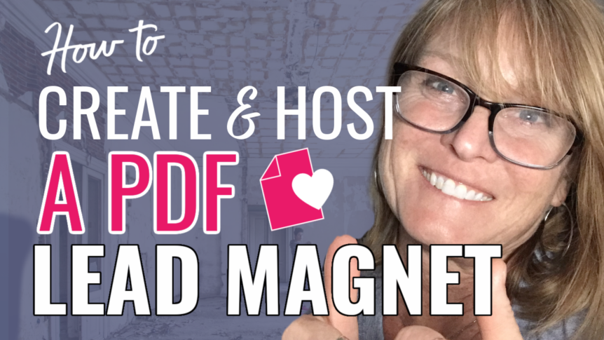 How To Create PDF Lead Magnet and Host it Online For Your Audience
