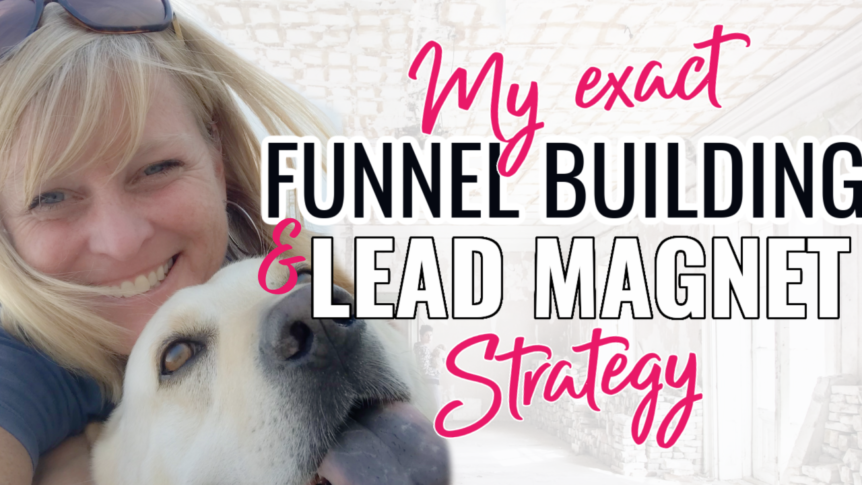 My Funnel Building and Lead Magnet Strategy- HBA Funnel Builder Demo | Amy Starr Allen