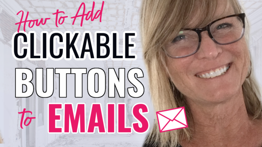 How to Add a Clickable Button to Your Emails- AWeber & HBA Funnel Builder 2021